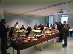 Buffet proposé par Couperin à Grenoble