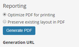 reporting detail optimize pdf