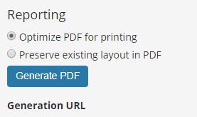 reporting detail optimize pdf