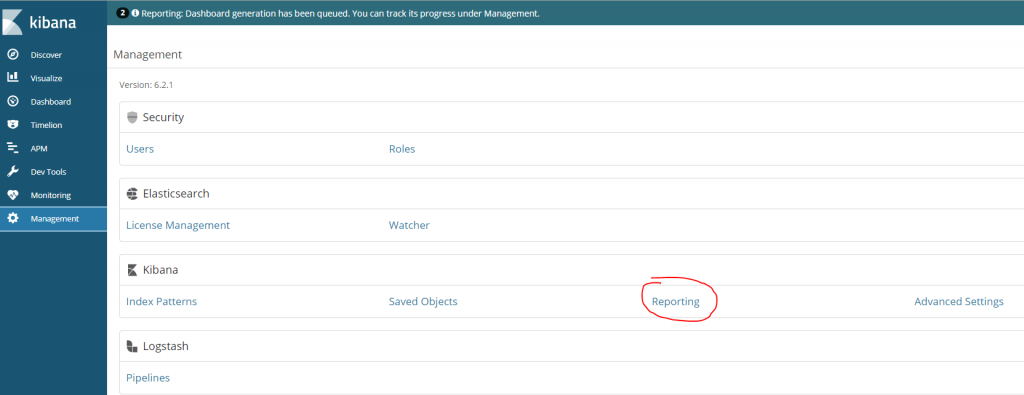 reporting management