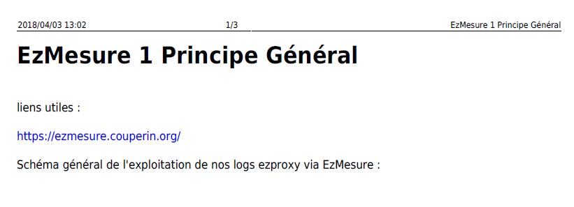 ezmesure 1 principe general