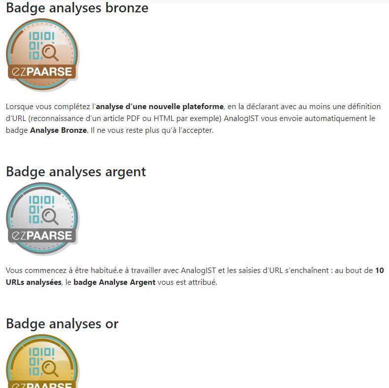badge article critères d'attribution blog