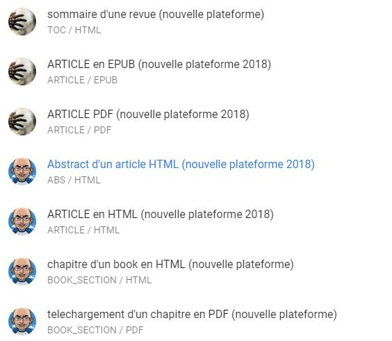 brill nouvelles analyses plateforme 2018