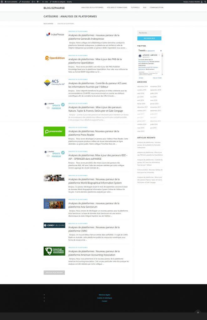 blog ezpaarse analyses de plateformes bilan