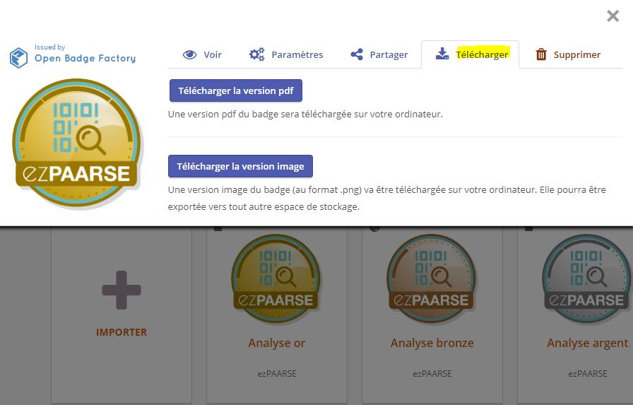 faq   comment valoriser mes open badges ezpaarse   dans open badge passport  u2013 blog ezpaarse