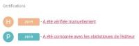 certification H et P analogist petit