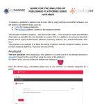 guide analyses de plateformes EN