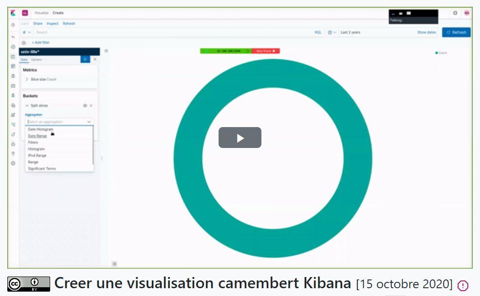 podlille creer une visualisation camembert kibana